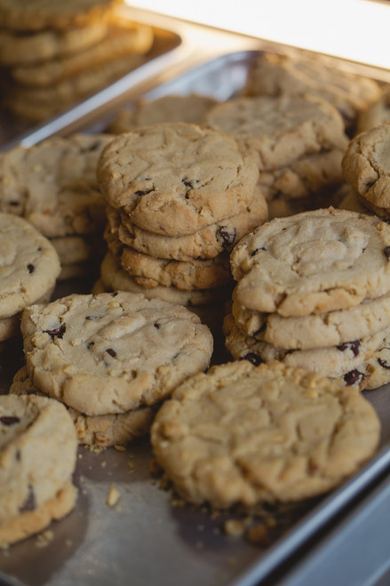 One Dozen Peanut Butter/Chocolate Chip Cookies