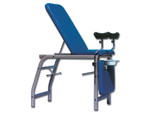 3-Section Gynaecological Bed - Blue