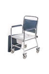 Mobile Commode with Detachable Backrest