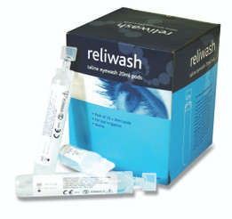 Eye Wash Phials 20ml - Pack of 25