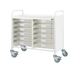 VISTA 100 Trolley - 12 Single Trays