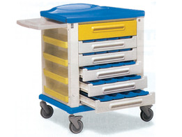 Pharmacy Trolley - Standard 20 Partition