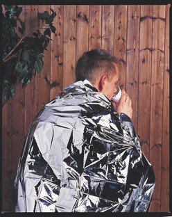 Disposable Heat Retaining Adult Foil Blanket