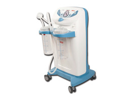 Clinic Plus Suction Aspirator - 2 x 4 L - 230 V - with Footswitch and Flow Diverter