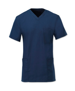Scrub Tunic Navy Blue