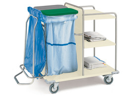 Laundry Trolley - Painted Steel