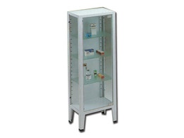 Cabinet - 1 Door - Tempered Glass
