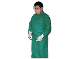 DISPOSABLE SURGICAL GOWNS - sterile - green