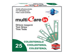 """Cholesterol Strips for Multicare """"IN"""""""