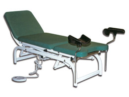 Height Adjustable Gyn Bed