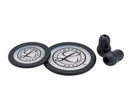 LITTMANN KIT 40016: 2 DIAPHRAGMS+RIM+EARTIPS for Classic III, Cardiology IV - black - blister