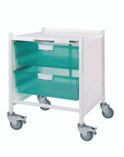 VISTA 15 Trolley - 2 Double Depth Trays
