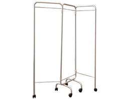 3 Wing Screen Frame - without Curtains with Castors