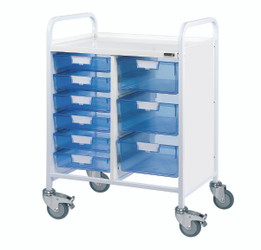 VISTA 60 Trolley - VISTA 60 Trolley - 6 Single/3 Double Trays