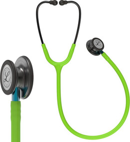 Littmann® Classic III™ Lime Green Smoke Edition (Blue Stem)