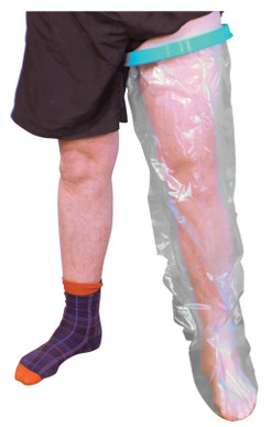Waterproof Cast and Bandage Protector (Adult Long Leg)