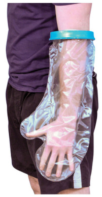 Waterproof Cast and Bandage Protector (Adult SHort Arm)