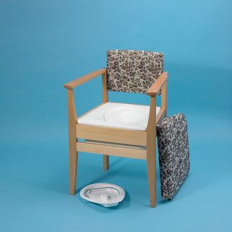 Deluxe Commode Chair