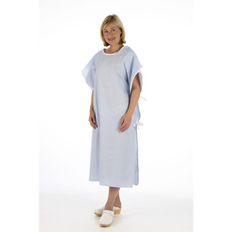 Polycotton Multi-Purpose Gown with Butterfly Sleeve