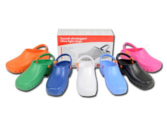 Ultra Light Clogs - with Straps