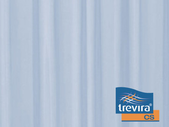 TREVIRA CURTAINS for wing screen - light blue