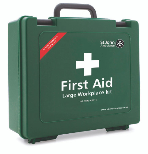 Large Standard Workplace First Aid Kit BS-8599-1