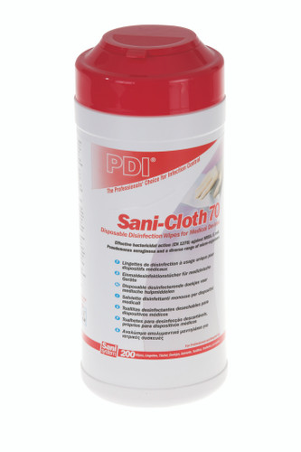Sani-cloth disinfectant wipes