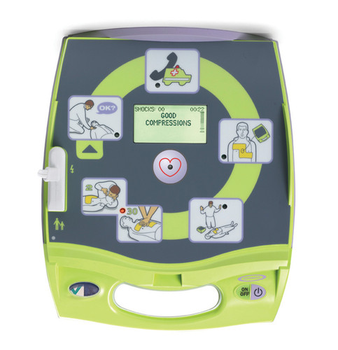 Zoll AED Plus fully automatic defibrillator