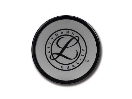 DIAPHRAGM (small side) + RETAINING RING - for Littmann Cardiology III - Black