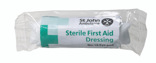 No.16 Eye Pad First Aid Dressing - Sterile
