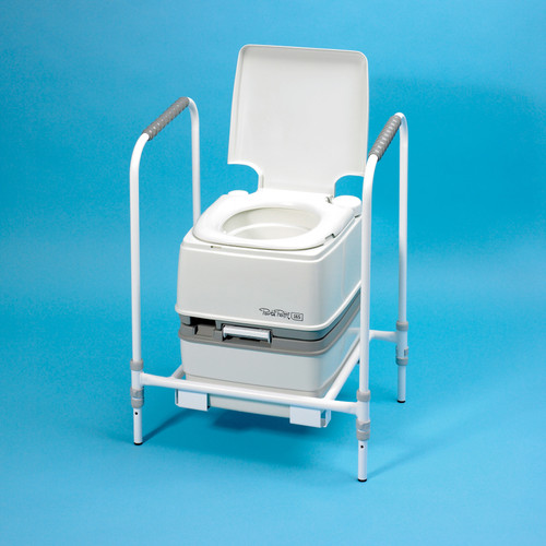 Chemical Toilet Port-Potty Portable Manual Flush
