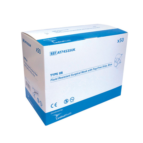 Face Mask Type IIR - box of 50