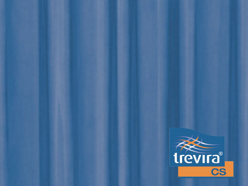 TREVIRA CURTAINS for wing screen - blue