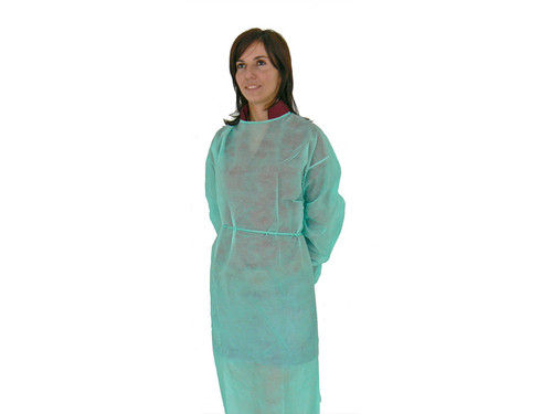 DISPOSABLE SURGICAL GOWNS - sterile - green, pack of 50