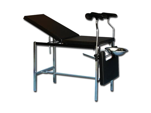 Deluxe Gyn Bed - Quality Leg Holders
