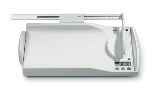 Mobile electronic baby scales