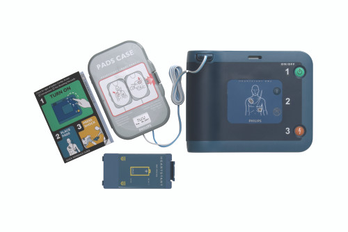 Philips Heartstart® FRX defibrillator – semi-automatic