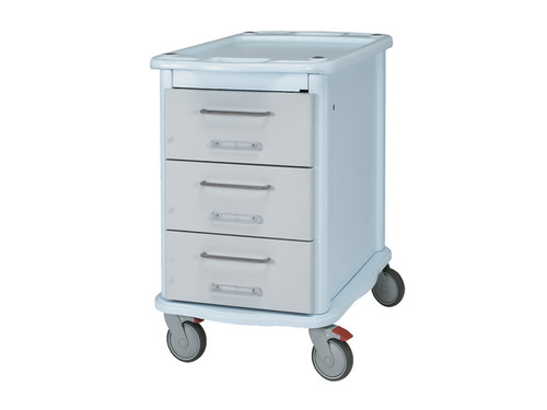 Double Face Pharmacy Trolley