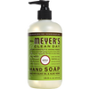 mrs meyers apple liquid hand soap