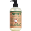 mrs meyers geranium liquid hand soap