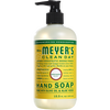 mrs meyers honeysuckle liquid hand soap