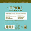 mrs meyers basil laundry detergent back label