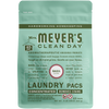 mrs meyers basil laundry packs