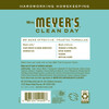 mrs meyers basil multi surface concentrate back label