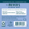 mrs meyers bluebell fabric softener back label
