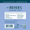 mrs meyers bluebell laundry detergent back label