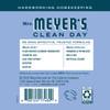 mrs meyers bluebell liquid hand soap back label