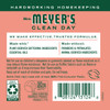 mrs meyers geranium fabric softener back label