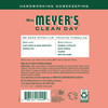 mrs meyers geranium multi surface concentrate back label