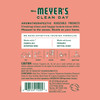 mrs meyers geranium scent sachet back label